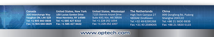 Optech Locations